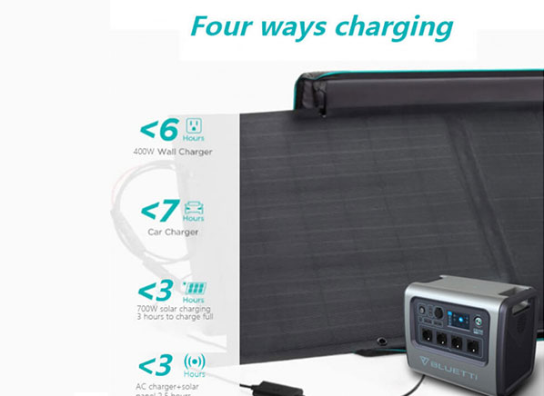 2000W 2KWh Portable Solar Power Station 02