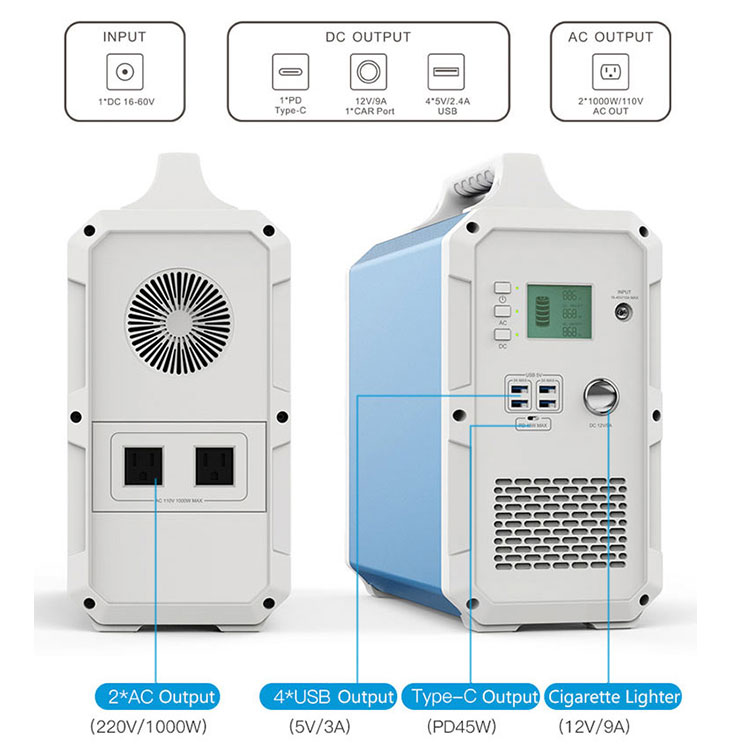 EB240 solar power station
