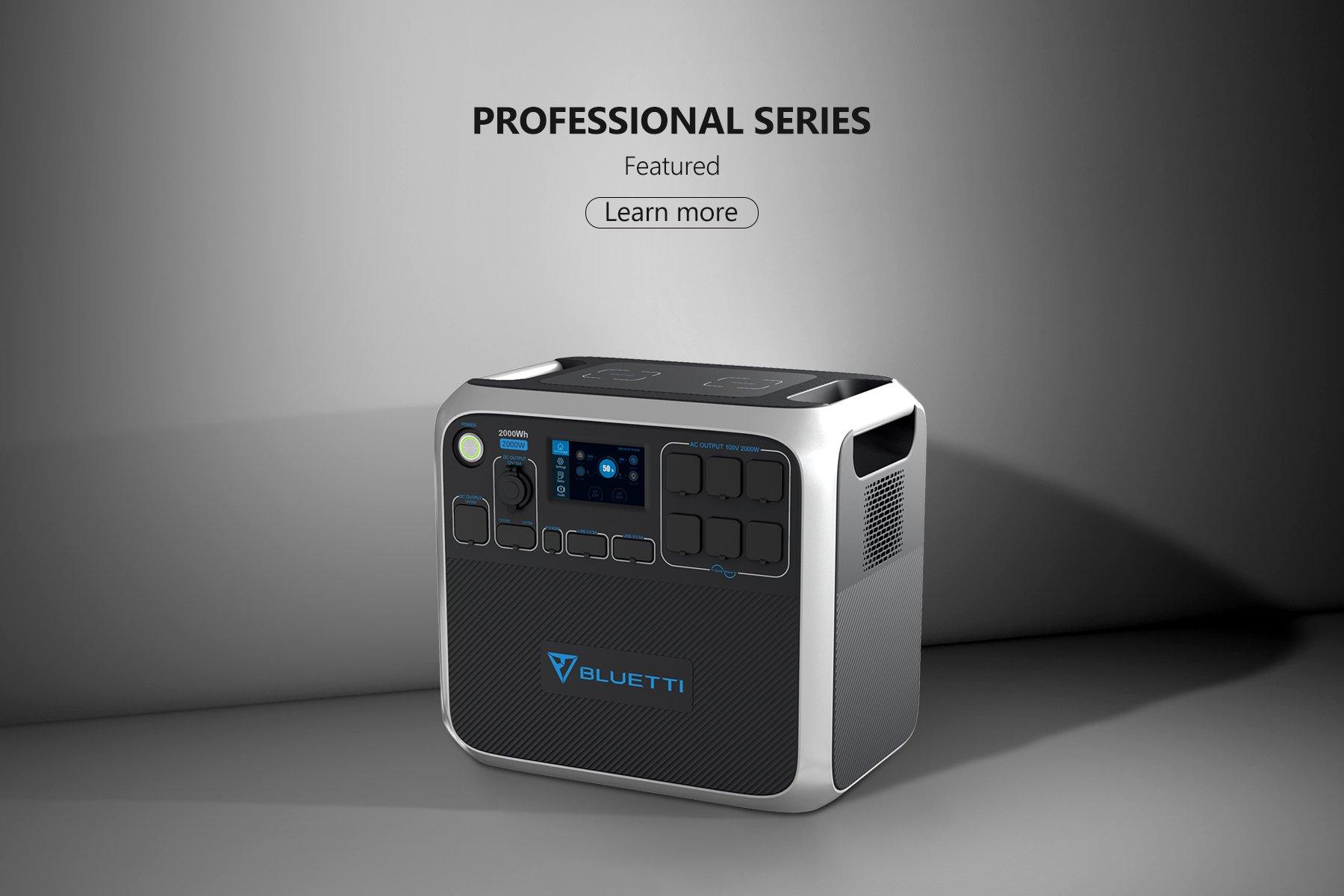 Portable Professional Solar Power Station Series