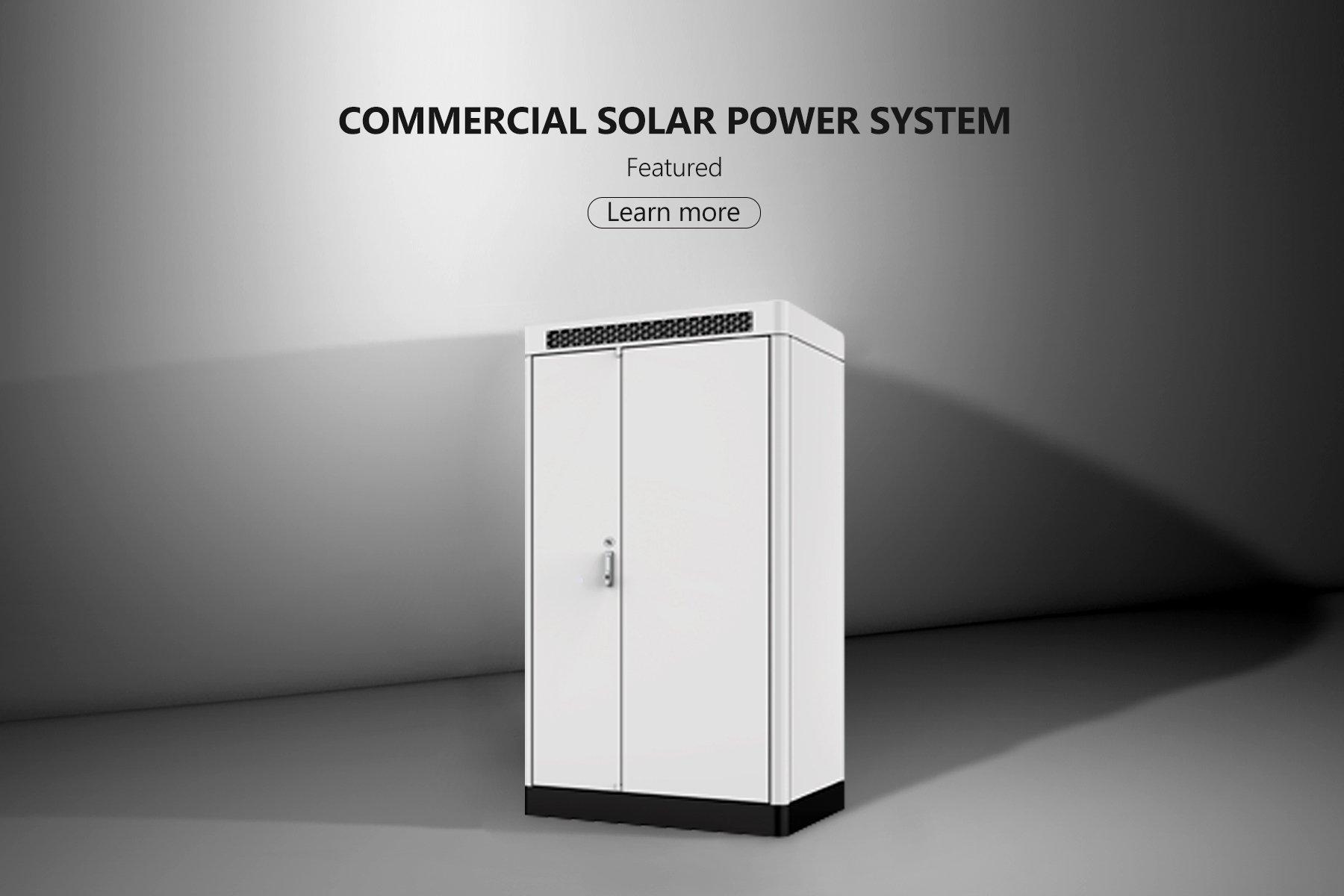 PowerOak Commercial Solar Power System